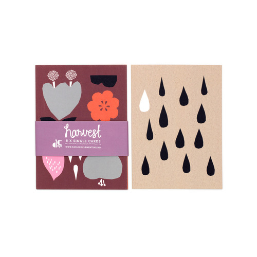 [달링클레멘타인]HARVEST SINGLE CARD SET