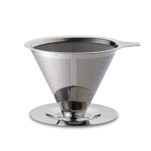 Coffee Dripper - silver