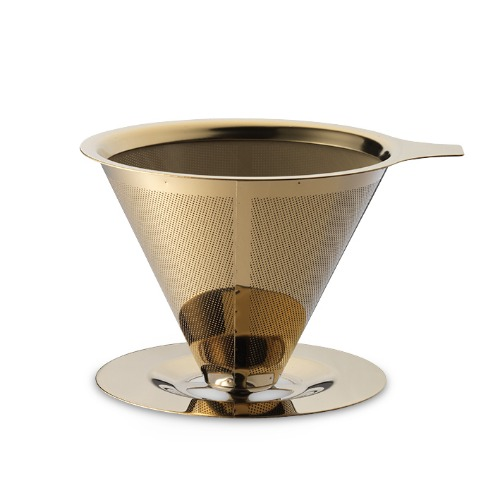 Coffee Dripper - gold